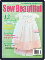 Sew Beautiful (Digital) Subscription July 2nd, 2013 Issue