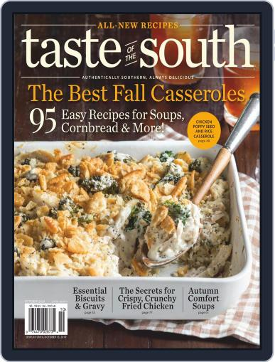 Taste of the South (Digital) October 1st, 2019 Issue Cover