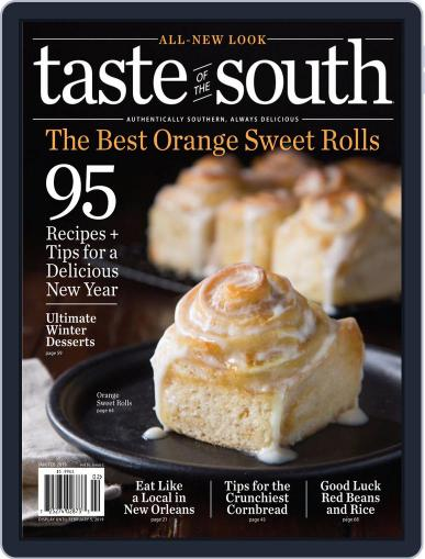 Taste of the South (Digital) January 1st, 2019 Issue Cover