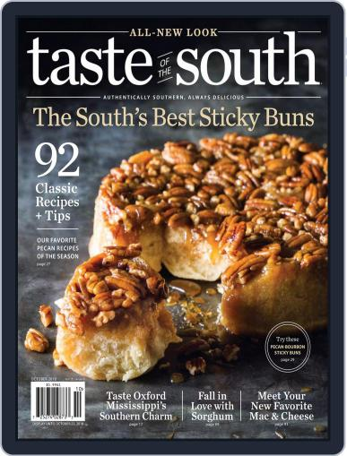 Taste of the South October 1st, 2018 Digital Back Issue Cover