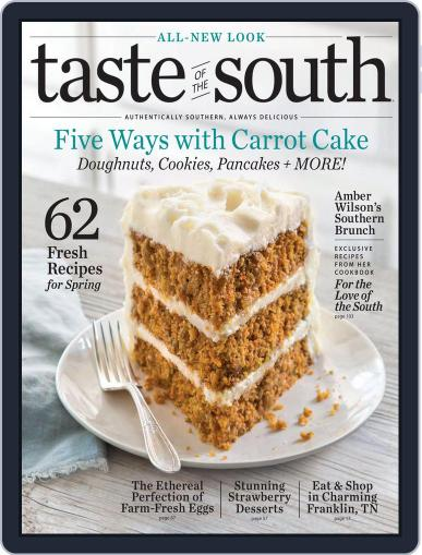 Taste of the South (Digital) March 1st, 2018 Issue Cover