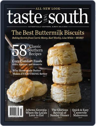 Taste of the South January 11th, 2018 Digital Back Issue Cover
