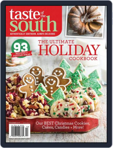 Taste of the South (Digital) November 2nd, 2017 Issue Cover