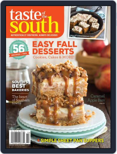 Taste of the South (Digital) August 8th, 2017 Issue Cover