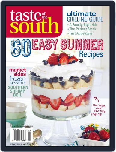Taste of the South (Digital) July 1st, 2017 Issue Cover