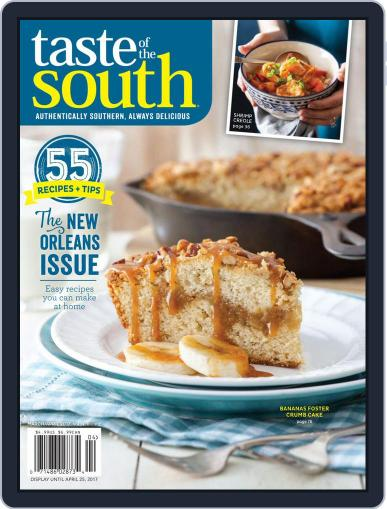 Taste of the South (Digital) March 1st, 2017 Issue Cover
