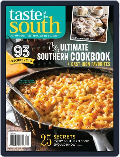 Taste of the South (Digital) January 2nd, 2017 Issue Cover