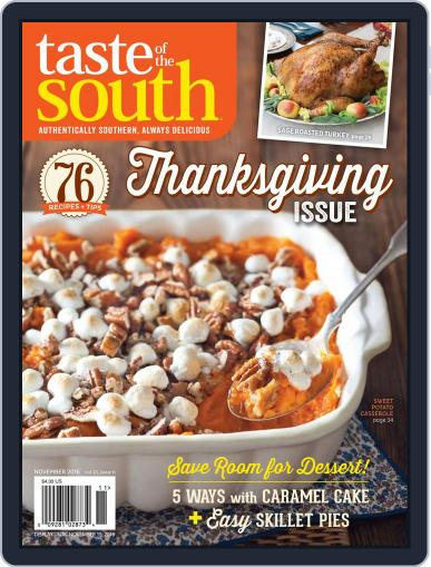 Taste of the South (Digital) November 2nd, 2016 Issue Cover