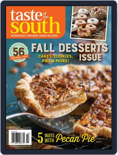 Taste of the South (Digital) September 2nd, 2016 Issue Cover