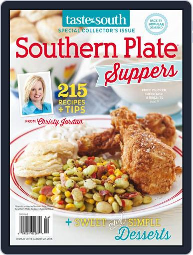 Taste of the South (Digital) May 11th, 2016 Issue Cover