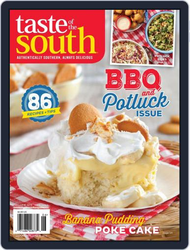 Taste of the South May 2nd, 2016 Digital Back Issue Cover