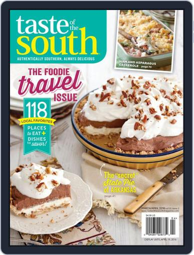 Taste of the South March 2nd, 2016 Digital Back Issue Cover