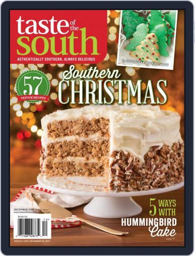 Taste of the South (Digital) December 2nd, 2015 Issue Cover