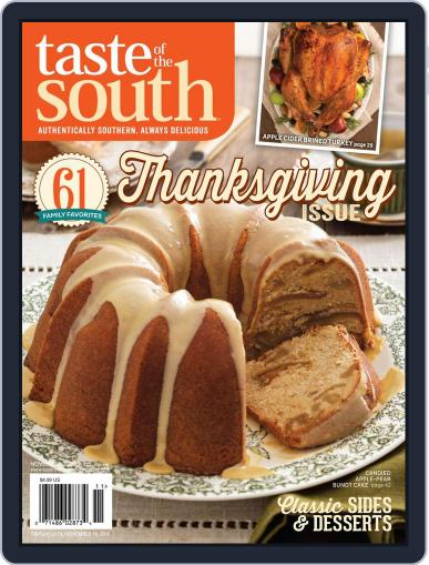 Taste of the South (Digital) November 2nd, 2015 Issue Cover