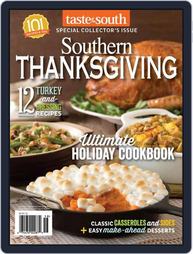 Taste of the South (Digital) October 8th, 2015 Issue Cover