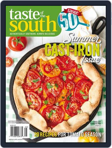 Taste of the South (Digital) July 2nd, 2015 Issue Cover