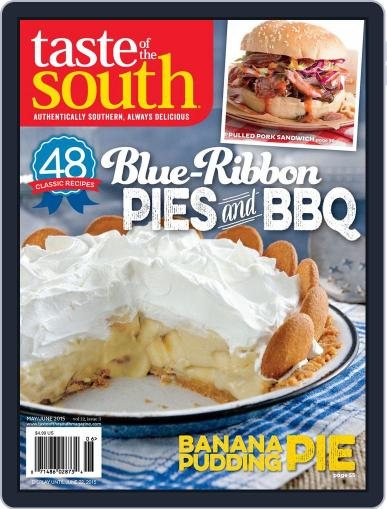 Taste of the South May 2nd, 2015 Digital Back Issue Cover