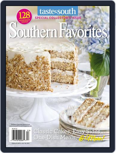 Taste of the South (Digital) April 4th, 2015 Issue Cover