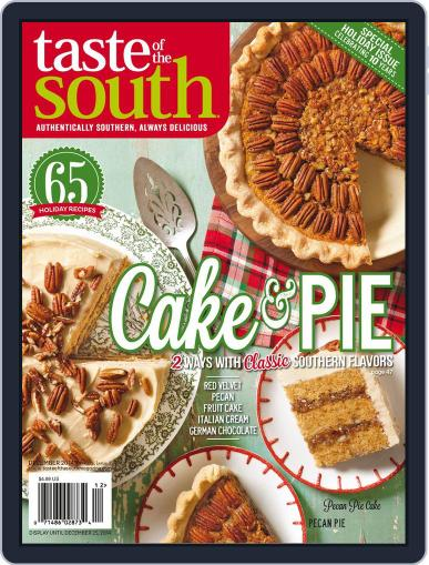 Taste of the South December 25th, 2014 Digital Back Issue Cover