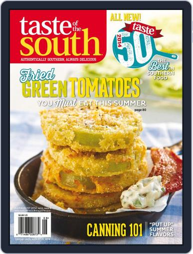 Taste of the South (Digital) August 25th, 2014 Issue Cover