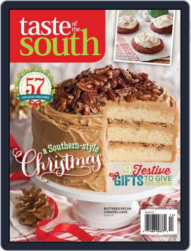Taste of the South December 1st, 2013 Digital Back Issue Cover
