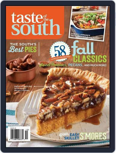 Taste of the South (Digital) September 1st, 2013 Issue Cover