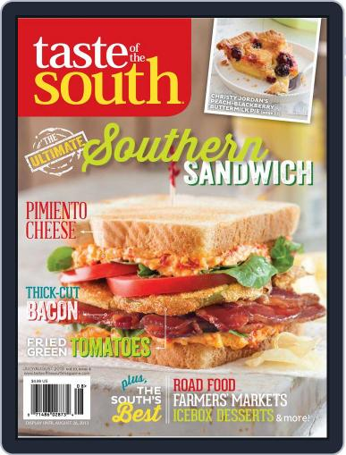 Taste of the South (Digital) July 1st, 2013 Issue Cover