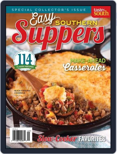 Taste of the South (Digital) March 16th, 2013 Issue Cover