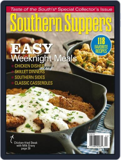 Taste of the South (Digital) October 8th, 2012 Issue Cover