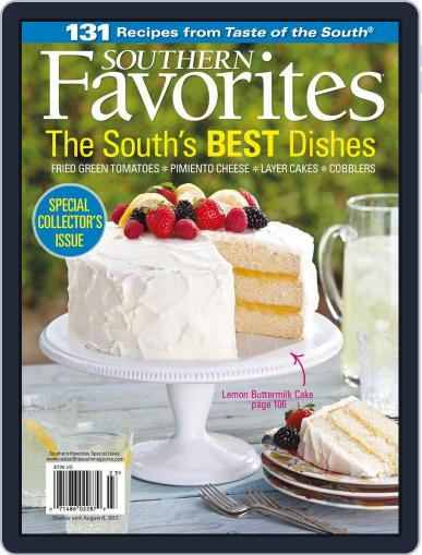 Taste of the South (Digital) August 6th, 2012 Issue Cover