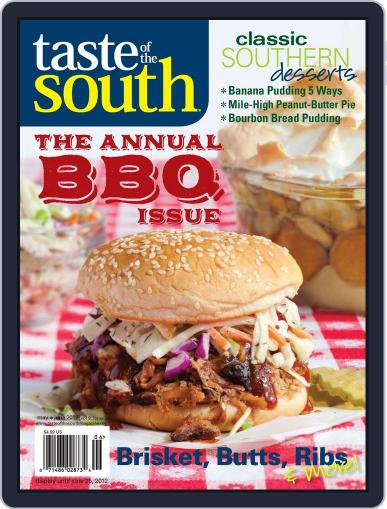Taste of the South (Digital) May 1st, 2012 Issue Cover