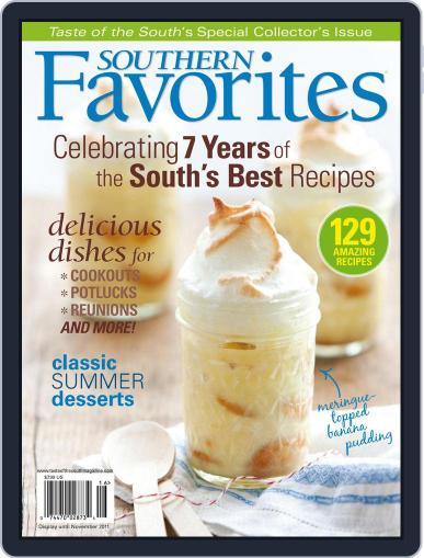 Taste of the South November 1st, 2011 Digital Back Issue Cover