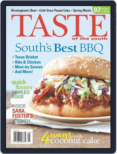 Taste of the South (Digital) April 1st, 2011 Issue Cover