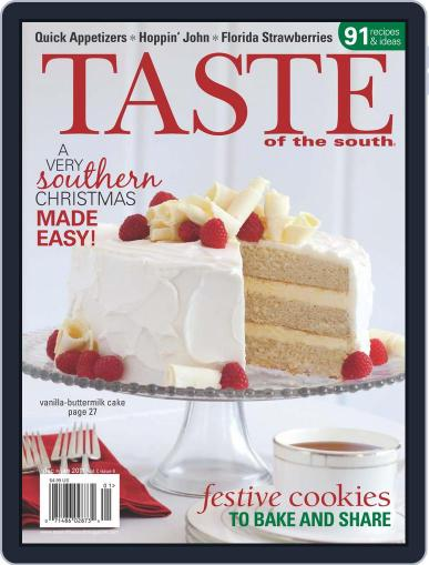 Taste of the South (Digital) December 1st, 2010 Issue Cover