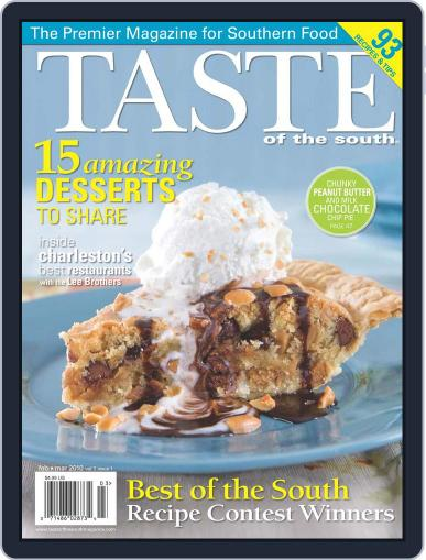 Taste of the South (Digital) February 1st, 2010 Issue Cover
