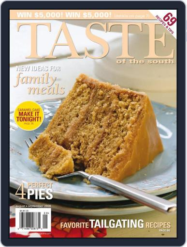 Taste of the South (Digital) August 1st, 2009 Issue Cover