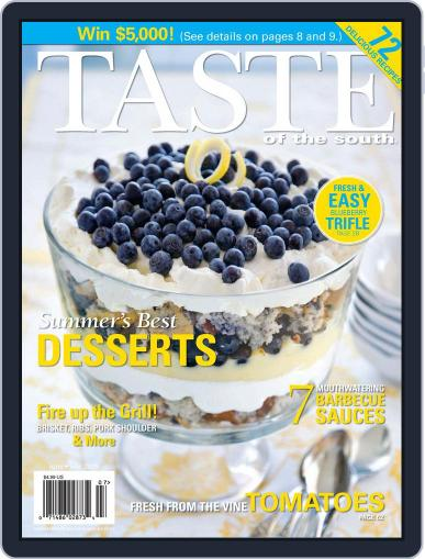 Taste of the South June 1st, 2009 Digital Back Issue Cover