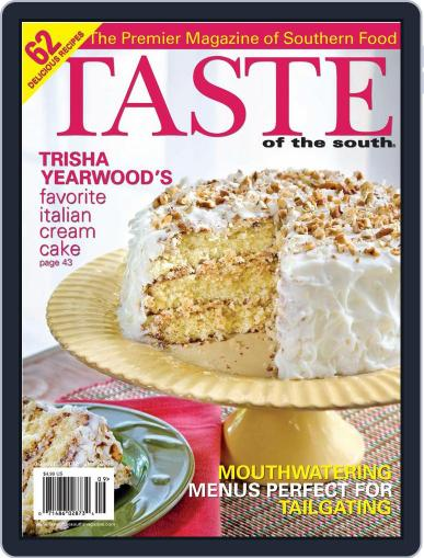Taste of the South (Digital) August 1st, 2008 Issue Cover