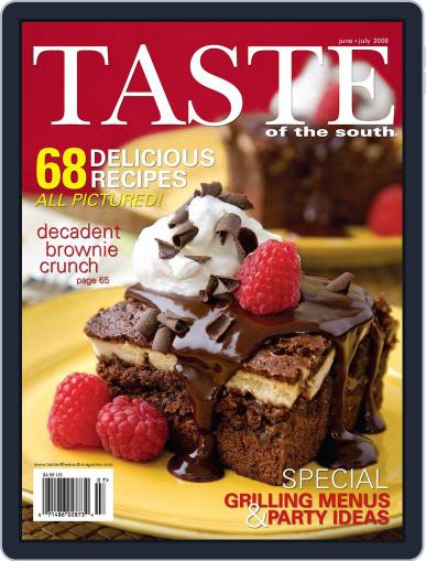 Taste of the South (Digital) June 1st, 2008 Issue Cover