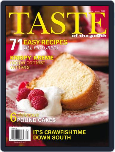 Taste of the South February 1st, 2008 Digital Back Issue Cover
