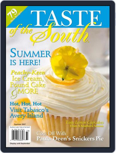 Taste of the South June 1st, 2007 Digital Back Issue Cover
