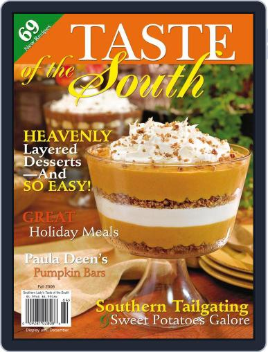 Taste of the South January 1st, 2006 Digital Back Issue Cover