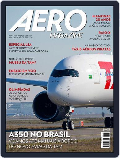 Aero (Digital) February 26th, 2016 Issue Cover