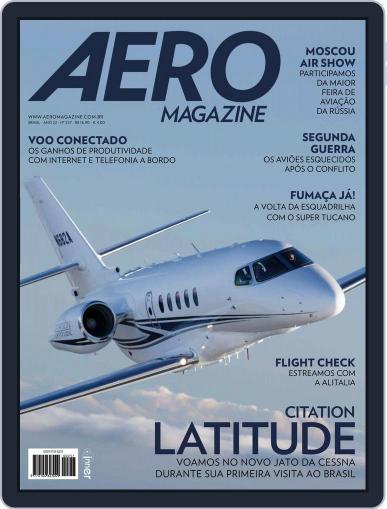 Aero (Digital) October 1st, 2015 Issue Cover