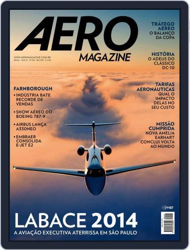 Aero (Digital) August 28th, 2014 Issue Cover