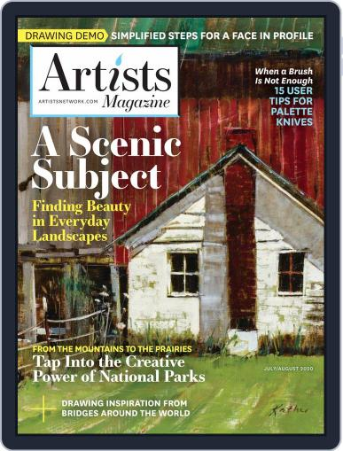 Artists (Digital) July 1st, 2020 Issue Cover