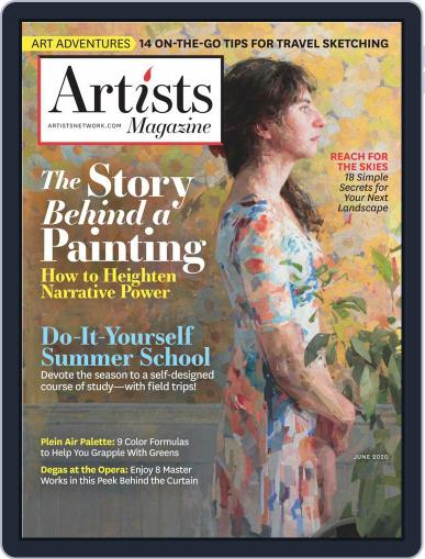Artists June 1st, 2020 Digital Back Issue Cover