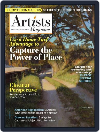 Artists (Digital) March 1st, 2020 Issue Cover