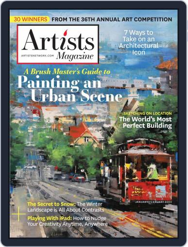 Artists (Digital) January 1st, 2020 Issue Cover