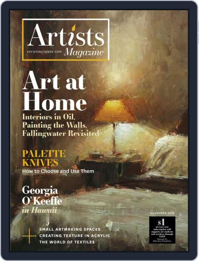Artists (Digital) November 1st, 2018 Issue Cover